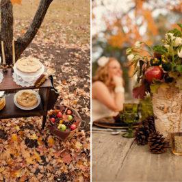Cum sa folosesti merele la o nunta tematica de toamna