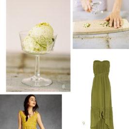 Inspiratie de culori pentru nunta: VERDE + GALBEN
