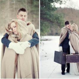 Stiti cat de frumoasa poate fi o nunta iarna ?